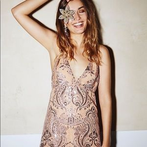 NWT Free People Night Shimmers dress